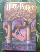 Harry Potter And The Sorcererand039s Stone 1st Edition J.k. Rowling Hardcover Book