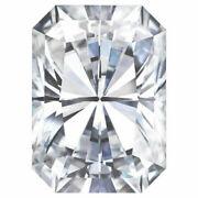 One Loose Stone 3.90tcw 10x8mm Vvs1 G-h-i Moissanite Forever Color Engagement