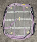 Graco Pack N Play Playpen Clip On Mesh Bassinet Insert With Poles Ships Free