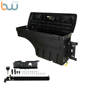 W/lock Truck Bed Swing Case Storage Tool Box Right For 2007-2020 Toyota Tundra