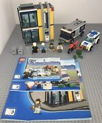 Lego 3661 City Bank And Money Transfer Set Manuals Minifigures Police