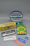 Vintage Shoot-a-loop Baseball Marble Game 9and039 Tall Pristine Condition -preowned