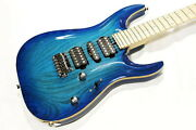 Tand039s Guitars Dst-24 Carved Top Ash Tbb Used Maple Neck Fingerboard W/soft Case