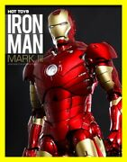 Hot Toys Marvel Iron Man Mark Iii Mms256-d07 Diecast 16 Sideshow Exclusive