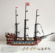 Lego 10210 Pirates Imperial Flagship / Custom Built From Lego Parts