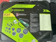 Greenlee 7310sbsp Speed Punchandreg Knockout Punch Kit 1/2 To 4