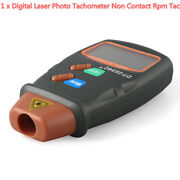 Non Contact Hand Held Small Engine Digital Laser Photo Tachometer Rpm Speed Kit