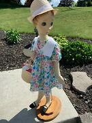 D.g. Williams Mannequin Doll 1940and039s 50and039s Child Girl Art Deco 40