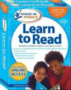 Learn To Read Complete Sets Ser. Hooked On Phonics Learn To Read Levels 7...