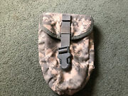 U.s Military Surplus Entrenching Tool Shovel Pouch Ucp Camo Molle