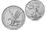 2021 American Silver Eagle Coin - Type 2 -one Roll Presale Free Shipping