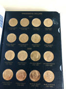 2007 To 2013 Presidential Dollars Set Whitman Album 51 Coins 5 Pages To 2016