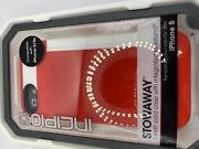 Incipio Stowaway Series Case For Apple Iphone 5/5s - Red/white