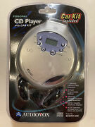 Audiovox Personal Cd Player With Car Kit Dm8707-45k Z19 New Sealed