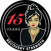 Woman Serenity 15 Year Aa/na Sobriety Medallion - Tri-plate Fifteen Year Chip/co
