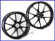 2010 848 Marchesini M10s Aluminum Forged Wheel Front And Rear Set 3000km Monster P