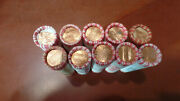 2000 2001 2002 2003 And 2004 10 P / D Lincoln Penny Cent Roll