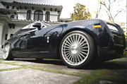 """22"""" Rf22 Silver Polish Concave Wheels Rims For Rolls Royce Ghost 22x9 And 22x10.5"""
