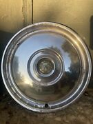 Eight 1955/1956 Ford Thunderbird And Fairlane Hubcaps
