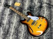 Epiphone Casino Vintage Sunburst By Gibson Ss Hollow Type New E.guitar 6 String
