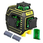 3 X 360 Green Laser Level Self-leveling Three-plane Leveling And Alignment