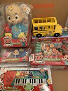 Cocomelon Doll Plush Roto Jj Bedtime Soft 10 Sing Toy 5 Piece Gift Set Youtube
