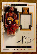 2016-17panini Impeccable First Year Kyrie Irving Auto Patch Nets /75 Rare
