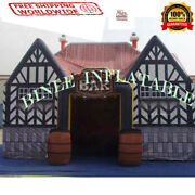 Commercial Inflatable Bar Pub Tent Beer Bounce House Slide Fair We Finance