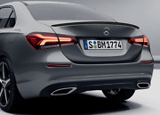 Genuine Mercedes Benz Accessory A-class Carbon Styled Rear Spoiler