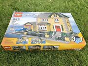 Lego Creator Model Town House 3 In 1 4954 100 Complete, With Box And Manuals