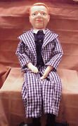 W.c Fields Ventriloquist Dummy Doll - Approx 30 Long By Eegee 1980