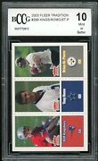 2003 Fleer Tradition 299 Tony Romo Rookie Card Bgs Bccg 10 Mint+