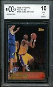 1996-97 Topps Nba At 50 138 Kobe Bryant Rookie Card Bgs Bccg 10 Mint+