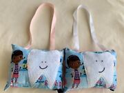 1 Tooth Fairy Pillow Hanging Doc Mcstuffins Girl Room Gift Pink Brown Cotton N