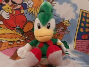 Ultra Rare 1996 Sonic The Fighters Bean The Dynamite Plush Toy Hedgehog Sega