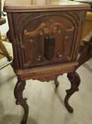 Was 350 Antique Copper Lined Humidor Smoking Cabinet/tennessee Red Cedar