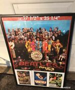 Rare The Beatles Sergeant Peppers Lonely Hearts Club Band Poster W 3 Lobby Cards
