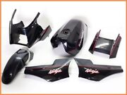 Gpz900r Exterior Set Light Weight Frp Upper Cowl Genuine Tank And Tail Etc Yyy
