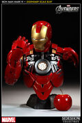 Iron Man - Mark Vi Legendary Scale™ Bust By Sideshow Collectibles