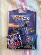 Tiger Electronics Hit Clips Blue Micro Personal Player With M2m Clip New