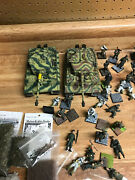 Dragon Can Do Wwii Tigers And Infantry Lot 1/35 Scale Retired.