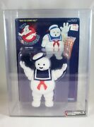 1986 Kenner Real Ghostbusters Stay Puft Marshmallow Man Afa Graded 80 Near Mint