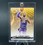 Lebron James Panini Exclusive Release Lakers Gold Card - Sold Out