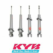 Kyb Gas-a-just Front And Rear Shock Absorbers Fits Mazda Rx8 04-06 - 551115 551116