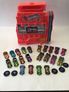 Hot Wheels 25th Anniversry Loose Lot Of 22 Cars With 25th Case. Metallic, Mint