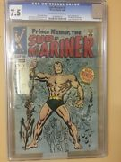 Sub-mariner 1 Cgc 7.5. Off White To White Pages. Hot Book