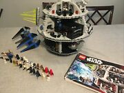 Lego Star Wars 10188 Death Star 2008 Minifigures And Instructions Plus Tie Fighter