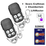For Liftmaster Remote 371lm 372lm Universal Electric Garage Remote Door Opener