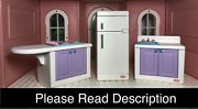 Little Tikes My Size Barbie Kitchen - Fridge With 3 Shelves, Stove, Sink And More