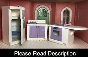 Little Tikes My Size Barbie Kitchen – Fridge With Shelf, Stove, Sink And More